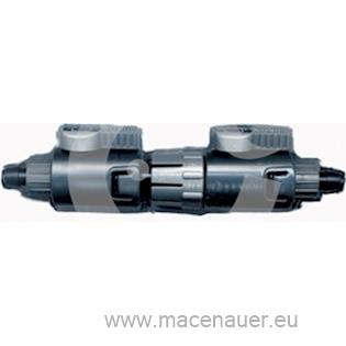 EHEIM Dvojitý kohout pro 4005940 16/22 mm, 1 ks