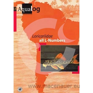 KNIHA AQUALOG: Loricariidae all L-Numbers