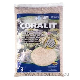 HOBBY Coralit korálový písek extra jemný 3 l