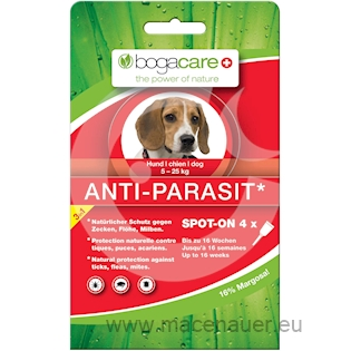 BOGAR bogacare ANTI-PARASIT SPOT-ON MEDIUM, pes, 4x1,5ml