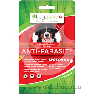 BOGAR bogacare ANTI-PARASIT SPOT-ON MAXI, pes, 4x2,5ml