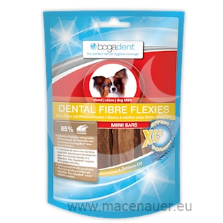 BOGAR bogadent DENTAL FIBRE FLEXIES MINI, pes, 70 g