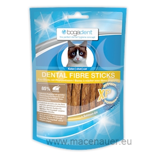 BOGAR bogadent DENTAL FIBRE STICKS, kočka, 50g