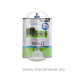 AQUAEL Gravel a Glass Cleaner L, odkalovací zvon