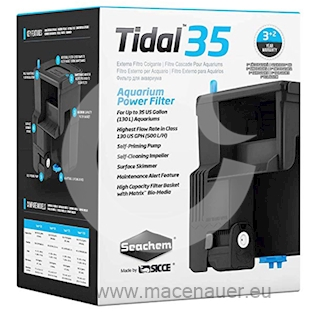 SEACHEM Vnější filtr TIDAL 35, 500 l/h
