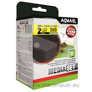 Aquael Příslušenství Filtrační houba pro filtr Turbo 500, 2 ks