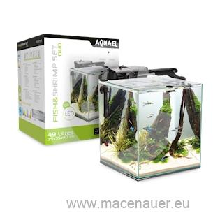 Aquael Akvárium Fish&Shrimp set 35 Black Duo