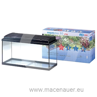 EHEIM Akvárium Aquastar 96 plus černá 96 l