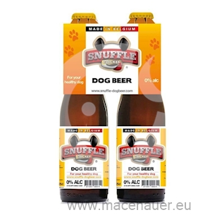 The Happy Animal Planet Pivo pro psy Snuffle kuřecí 25 cl, 4 ks