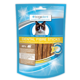 BOGAR bogadent DENTAL FIBRE STICKS, kočka, 50 g