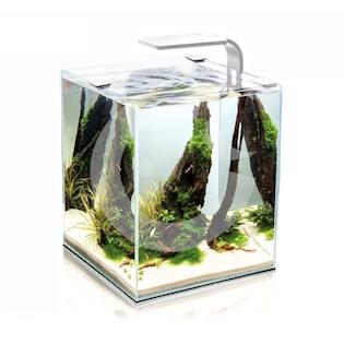AQUAEL Shrimp Smart akvarijní set, bílá, 20 l