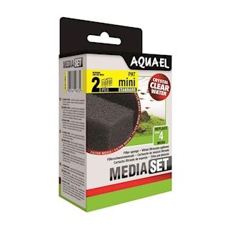 AQUAEL PAT mini filtrační houba, 2 ks