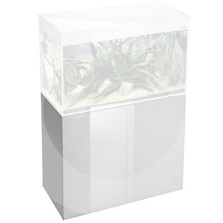 AQUAEL skřín, bílá lesklá pro akvárium GLOSSY 150