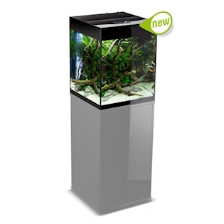 AQUAEL Akvárium Glossy Cube Black 135 l
