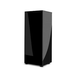AQUAEL skřín, černá lesklá pro akvárium GLOSSY CUBE, 50x50x90 cm