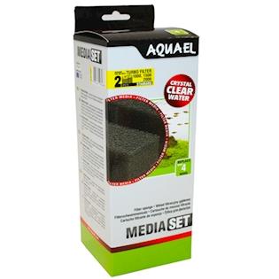 Aquael Příslušenství Filtrační houba pro filtr Turbo 1000/1500/2000 2 ks