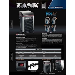 Teco Chladící jednotka TK2000 S WIFI, R290