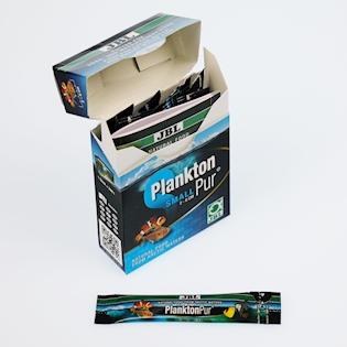 JBL Pochoutky pro malé akvarijní ryby PlanktonPur S5, 8x5g