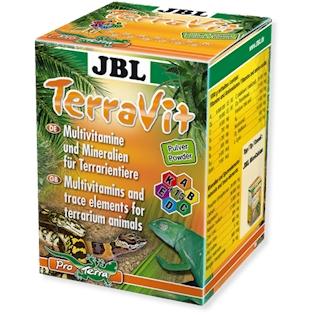 JBL Vitamíny a stopové prvky TerraVit, 100 g