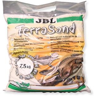 JBL Přírodní substrát TerraSand, bílý, 7,5 kg