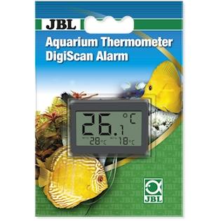 JBL Digitální teploměr na stěnu akvária Aquarium Thermometer DigiScan Alarm