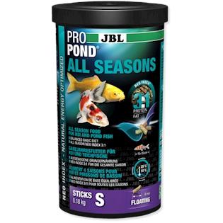 JBL Celoroční krmivo PROPOND ALL SEASONS S, 0,18 kg