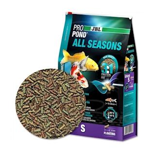 JBL Celoroční krmivo PROPOND ALL SEASONS S, 0,5 kg
