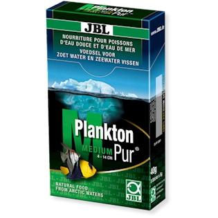 JBL Pochoutky pro velké akvarijní ryby PlanktonPur M, 8x5g