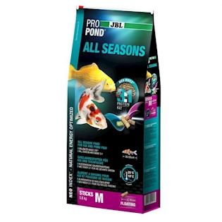 JBL Celoroční krmivo PROPOND ALL SEASONS M, 5,8 kg